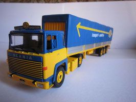 "Scania LBT 141 Sattelzug 1976-1981 ""ASG"" blau / gelb"