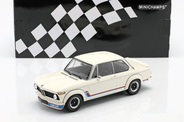 BMW 2002 Turbo 1973-1974 weiss / Decor