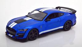 Ford Mustang Shelby GT500 2020 blau met. / weiss
