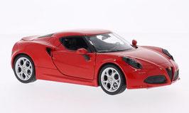 Alfa Romeo 4C 2013-2020 rot