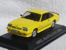 Opel Manta B GT/E Phase II 1982-1984 gelb