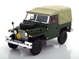 Land Rover Lightweight Series IIA Soft Top 1965-1985 dunkelgrün / grau