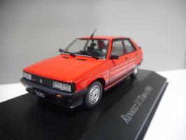 Renault 11 Turbo 1984-1990 rot / schwarz