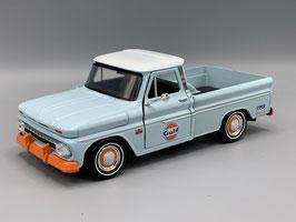 "Chevrolet C10 Fleetside Pick Up 1960-1966 ""Gulf hellblau / orange / weiss"