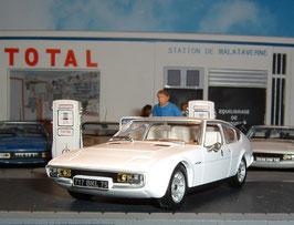 Matra-Simca Bagheera Courrèges 1976 weiss met.