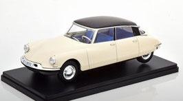 Citroën DS 19 Berline 1956 weiss / schwarz