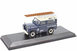 "Land Rover Santana 88 ""Telefonica Spain 1989"" dunkelblau / weiss"