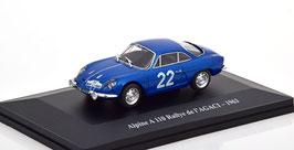 Renault Alpine A110 #22 Rally de L'Agaci 1963 blau met.