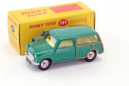Morris Mini Traveller Phase I 1960-1967 grün / Holz