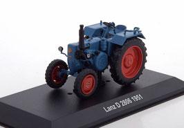 Lanz D 2806 Traktor 1951 dunkelblau/ rot
