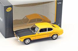 Ford Capri MK I RS 2600 Phase I 1969-1972 gelb / matt-schwarz