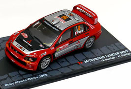 Mitsubishi Lancer WRC #10 Rally Monte-Carlo 2005 G. Panizzi / H. Panizzi
