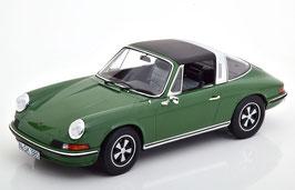 Porsche 911 S Targa 1972-1973 dunkelgrün / schwarz / silber