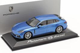Porsche Panamera Sport Turismo 4S Diesel seit 2017 hellblau met.
