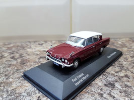 Ford Consul Classic 109E 1961-1963 Imperial Marron / White