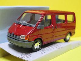 Ford Transit IV Bus Phase I 1986-1991 rot / grau