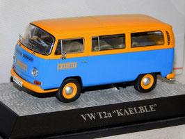 """VW T2a Bus 1967-1971 """"KAELBLE blau / gelb"""""""