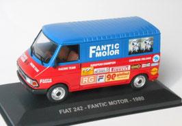 "Fiat 242 Phase II 1980-1987 ""Frantic  Motor"" rot / blau"