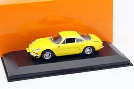 Renault Alpine A110 1961-1977 gelb