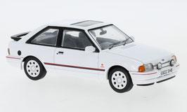 Ford Escort IV XR3i 1986-1990 RHD weiss / rot