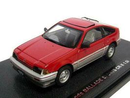 Honda CR-X Ballade 1.5i TypAF 1983-1987 RHD rot / silber met.