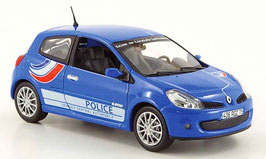 "Renault Clio RS 2007 ""Police France blau"