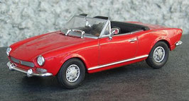 Fiat 124 Spider AS 1972-1978 rot