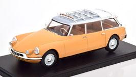 Citroën ID 19 Break 1957-1969 gelb / weiss / grau