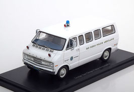 "Dodge Sportsman I 1971-1978 ""San Diego Police Ambulance"" weiss"