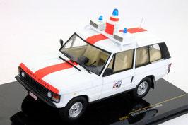 Range Rover 1970-1985 Police Belgien weiss / rot