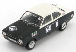 Ford Escort MK I 500km Nürburgring 1968 #79 schwarz / weiss