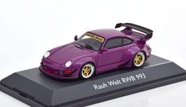 Porsche 911 / 993 RWB Rauh-Welt 1996 violett met.