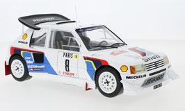 Peugeot 205 T16 E2 #8 Peugeot Talbot Sport Rallye Monte Carlo 1986 B. Saby / J-F. Fauchille