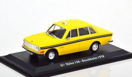 """Volvo 144 """"TAXI Stockholm 1970 gelb schwarz"""""""