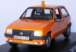 """Opel Corsa A Phase I 1982-1990 """"Stadt Nürnberg"""" orange"""
