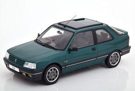 "Peugeot 309 GTI ""Goodwood"" 1991 RHD dunkelgrün met."