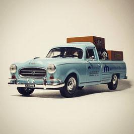 "Peugeot 403 T4B Pick Up 1967-1973 ""RM Automotores hellblau"""