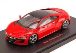 Honda NSX Concept 2013 LHD rot / schwarz