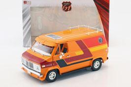 Chevrolet G-Series G10 Van 1976 orange / Decor