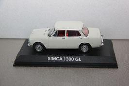Simca 1300 GL Berline 1963-1966 weiss