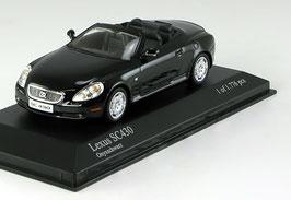 Lexus SC 430 Cabriolet Phase I 2001-2006 Onyxschwarz