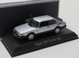 Saab 900 Turbo 16S 1986-1993 silber met.