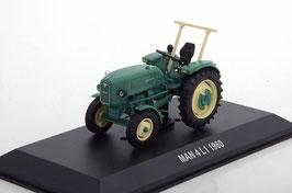 MAN 4 L1 Traktor 1960 dunkelgrün / beige