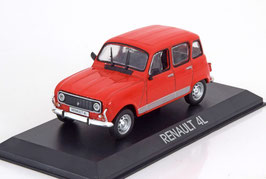 Renault 4 L Phase IV 1978-1992 rot
