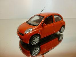 Nissan Micra III Phase I 2003-2005 orange met.