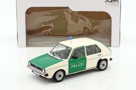 VW Golf I Phase I 1974-1978 Polizei Deutschland weiss / dunkelgrün