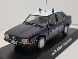 """Alfa Romeo 90 1984-1987 """"Carabinieri dunkelblau / weiss"""""""