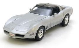Chevrolet Corvette C3 Phase VI 1980-1982 silber met. / schwarz