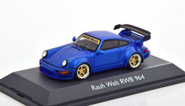 Porsche 911 / 964 RWB Rauh-Welt 1990 blau met.