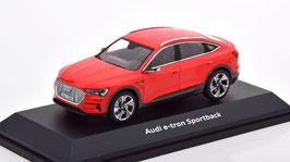 Audi e-tron Sportback GE seit 2020 hellrot / schwarz